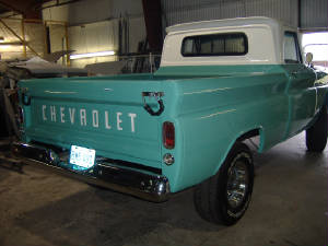 Classic Chevy 5/10 Pick Up Truck Restorations