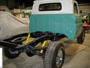 Classic Ford Truck Restorations and repairs