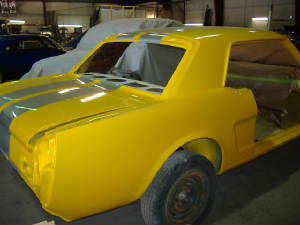 ford mustang restortions and repairs