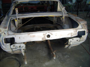 Vintage Car Fabrication, body and Paint