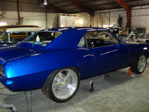 chevy camaro restorations