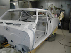 antigue auto restoration