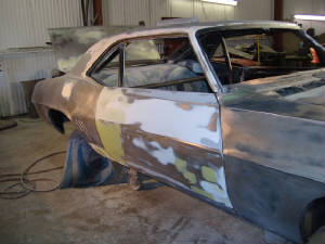custom car painting