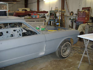 classic ford mustang restorations