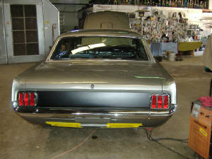 1965 mustang muscle car restorations