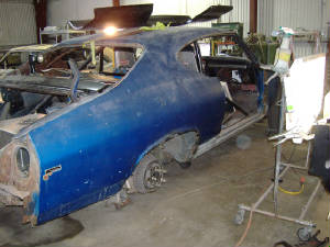 Classic Chevy Chevelle Restorations and repairs