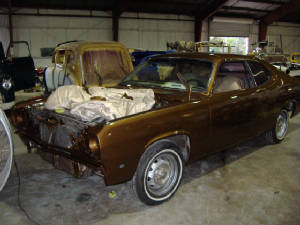 Plymouth Duster restorations