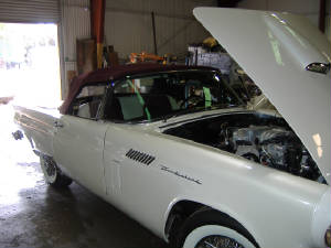 vintage ford t bird restorations and repairs