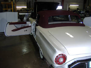 ford t bird restorations and repairs