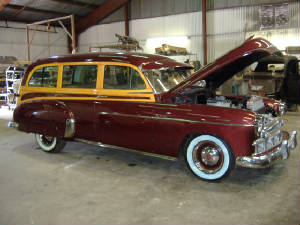 1949 chevy tin woody restorations
