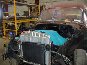 49 chevey wagon restorations