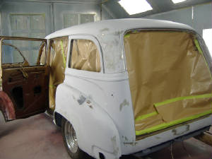 49 chevy wagon restorations