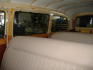 1949 chevy wagon repair and restoration