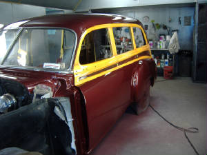 classic chevy woody restorations