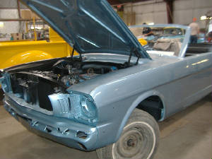 Classic Mustang Muscle Car Reatorations and Repairs