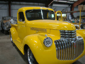 vintage chevy pick up truck restorations