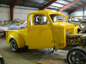 classic chevy pickup restorations