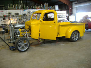 vintage chevy pick up truck restorations and repairs