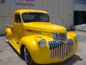 Vintage 1946 Chevy Pick UP Restorations