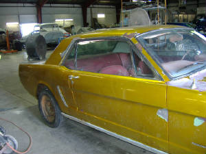 classic mustang restorations