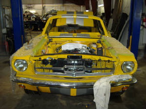 classic ford mustang restorations and repairs