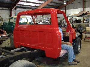 classic chevy pick up restorations and repairs