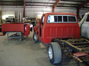 vintage chevy pick up restorations
