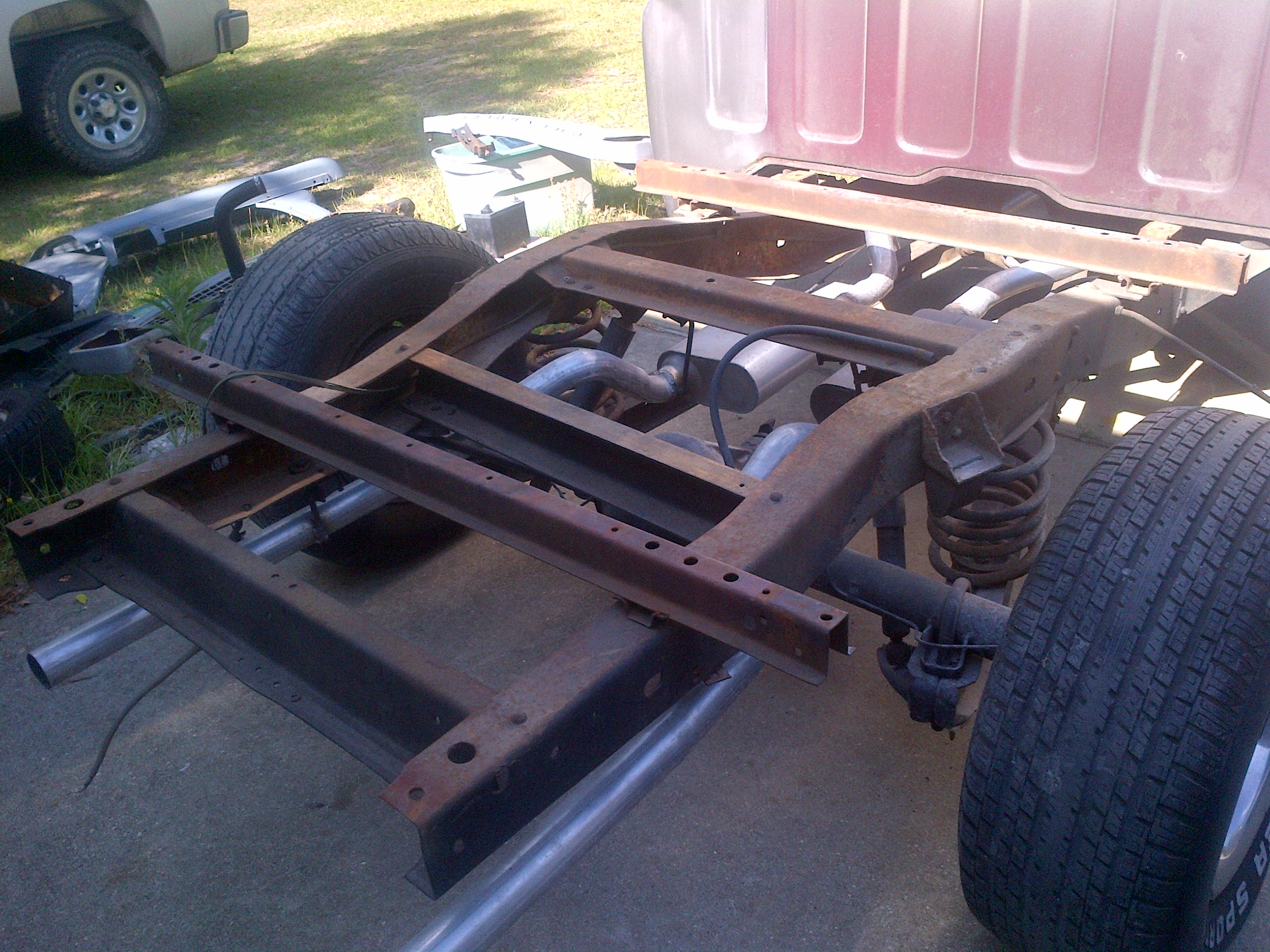 Kenneth Tooles 66 Chevy C10 Pick Up 1966 Impala Frame Truck Restorations