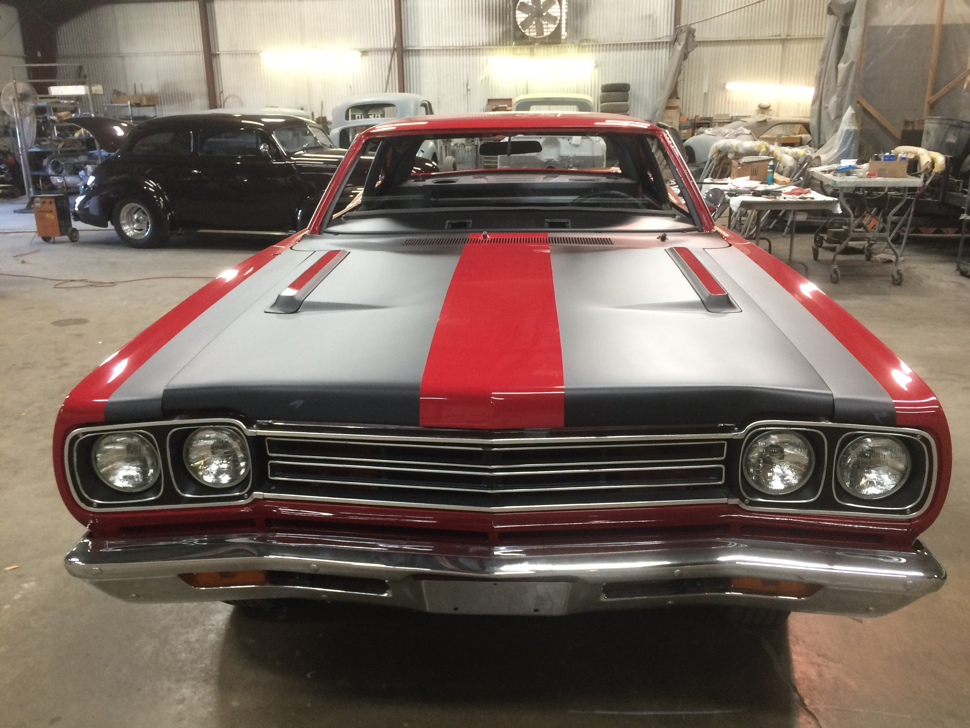 classic muscle car restorations