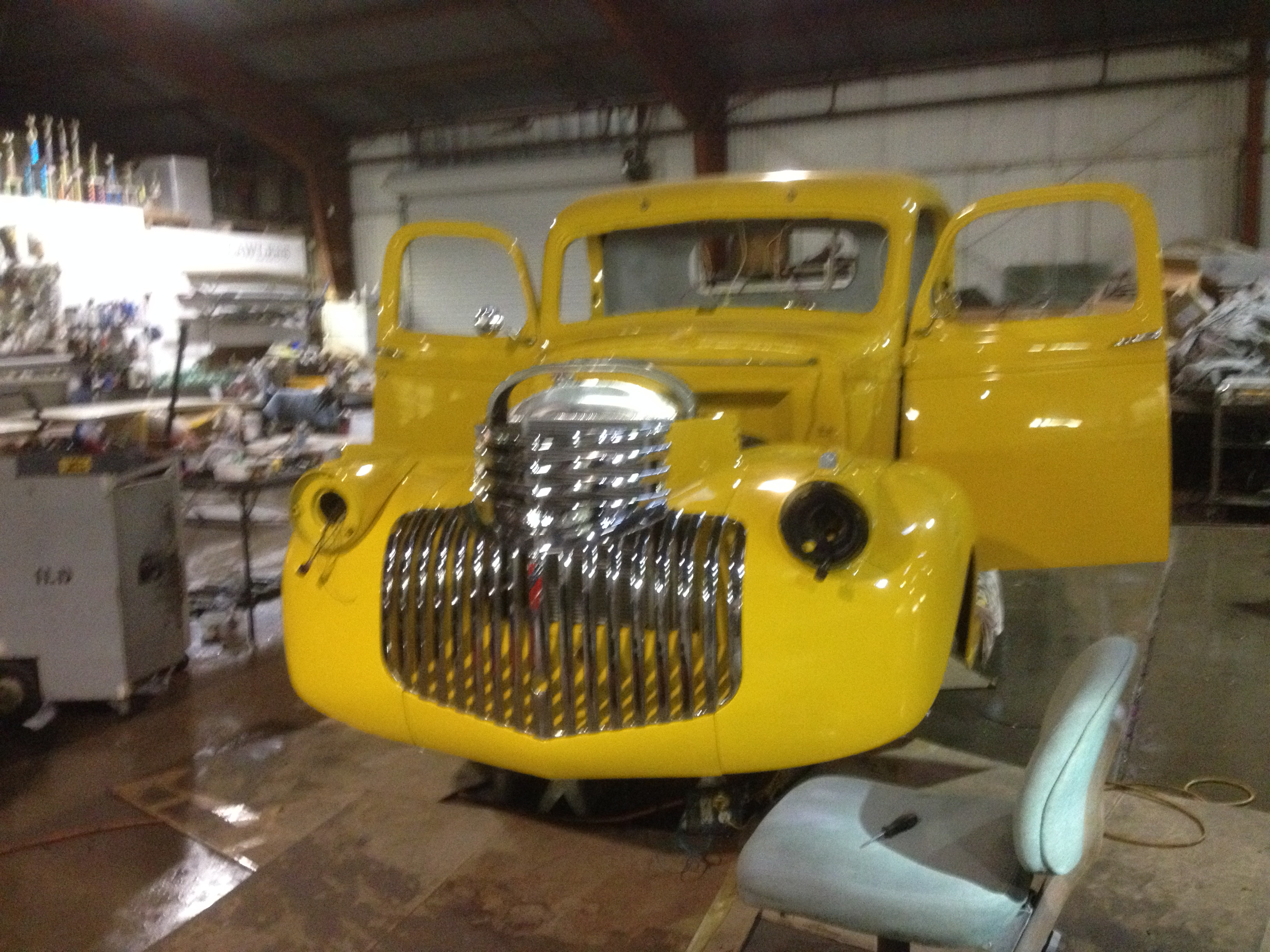classic chevy pick up truck restorations and repairs
