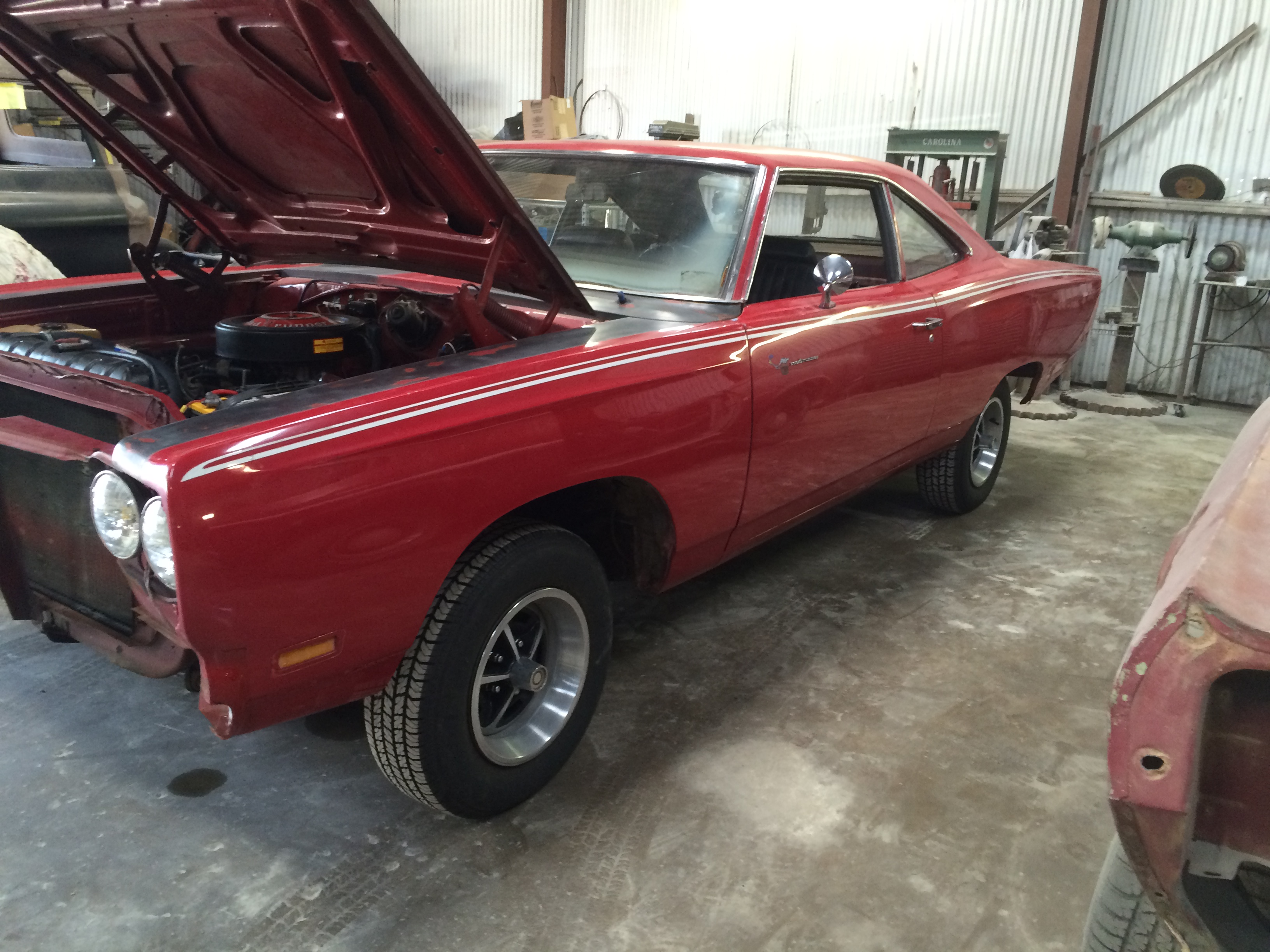 classic 1969 Plymouth Road Runner restorations
