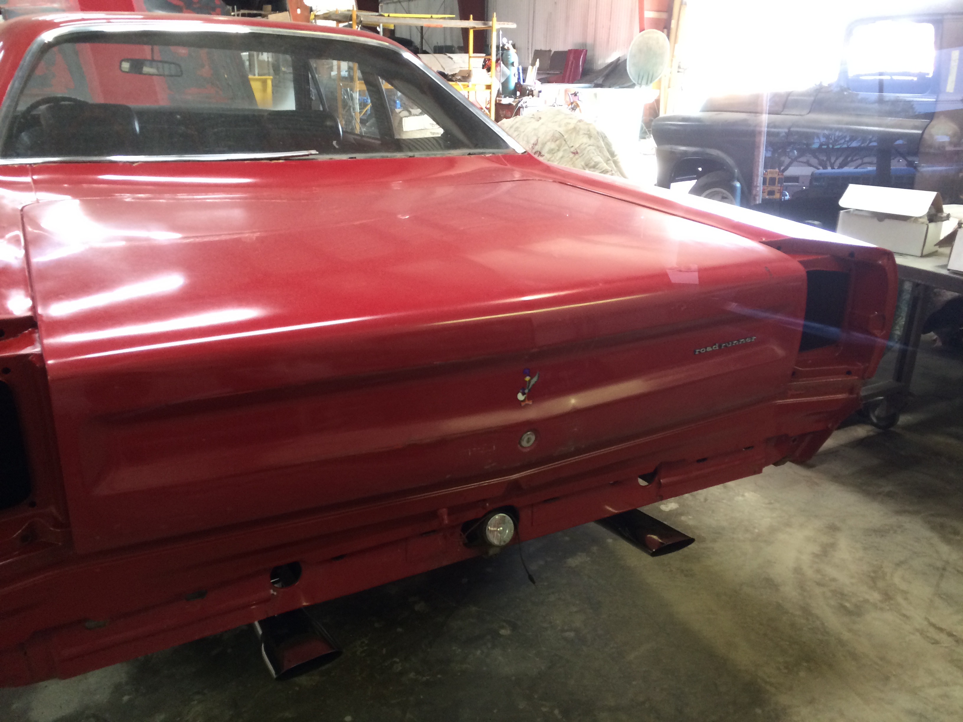 1969 plymouth road runner muscle car restortions