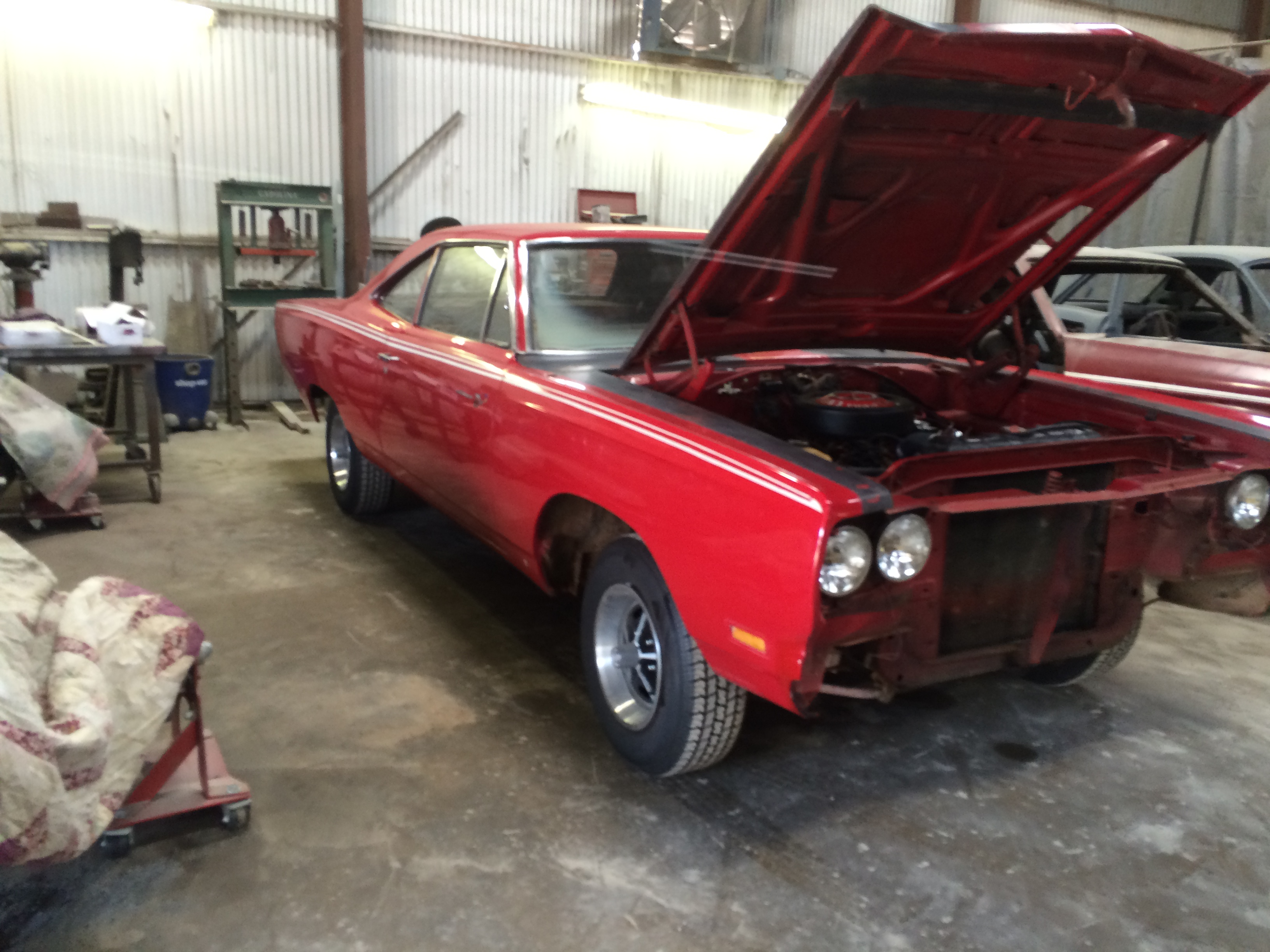 vintage Plymouth muscle car Restorations and repairs