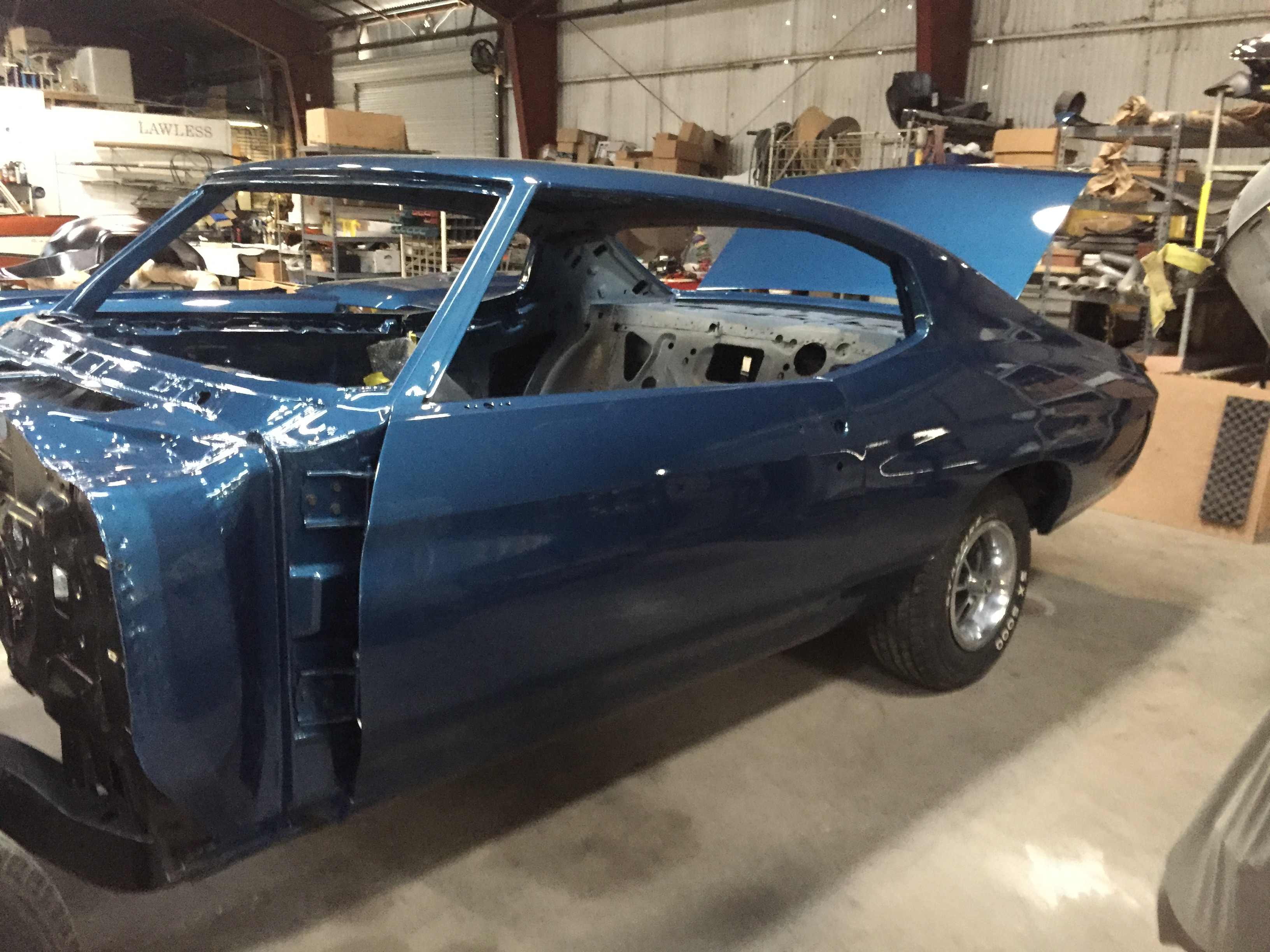 1970 chevelle muscle car restorations