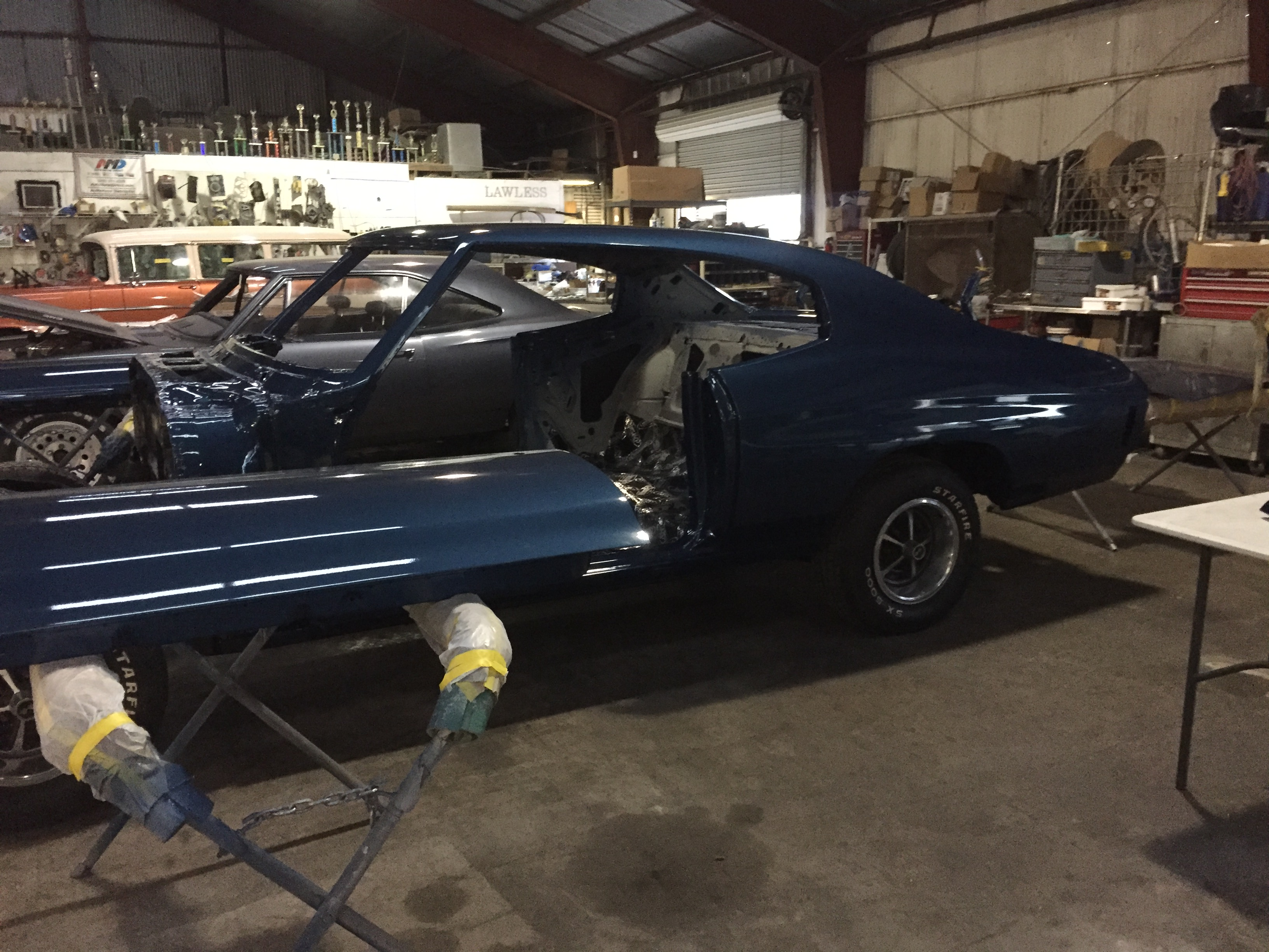 1970 chevy chevelle restorations and repairs