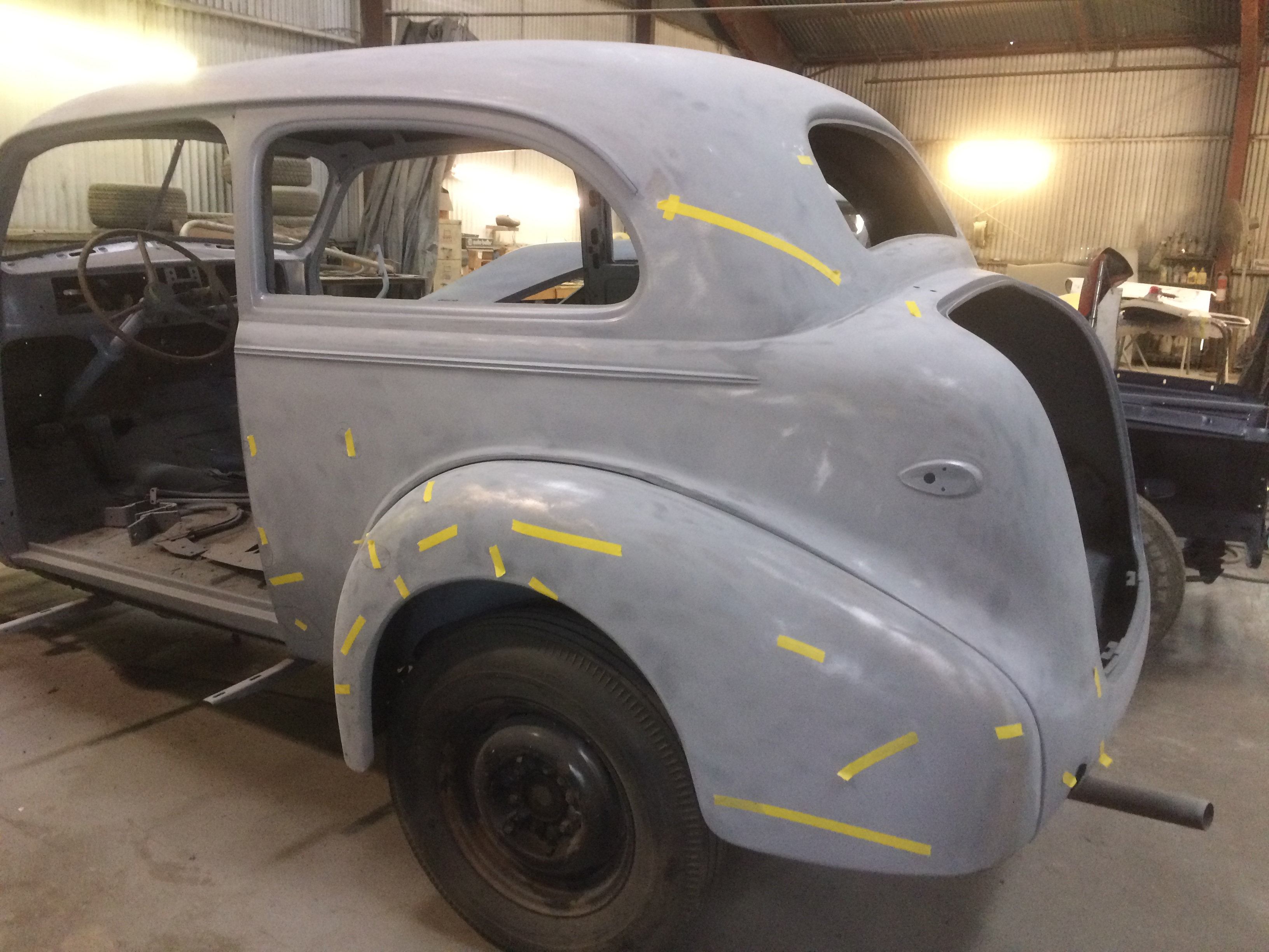 1939 chevy restortions and repairs
